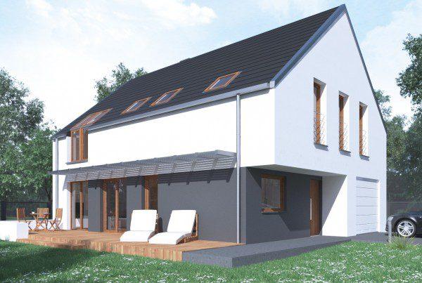 indywidualny projekt domu jednorodzinnego ruda śląska