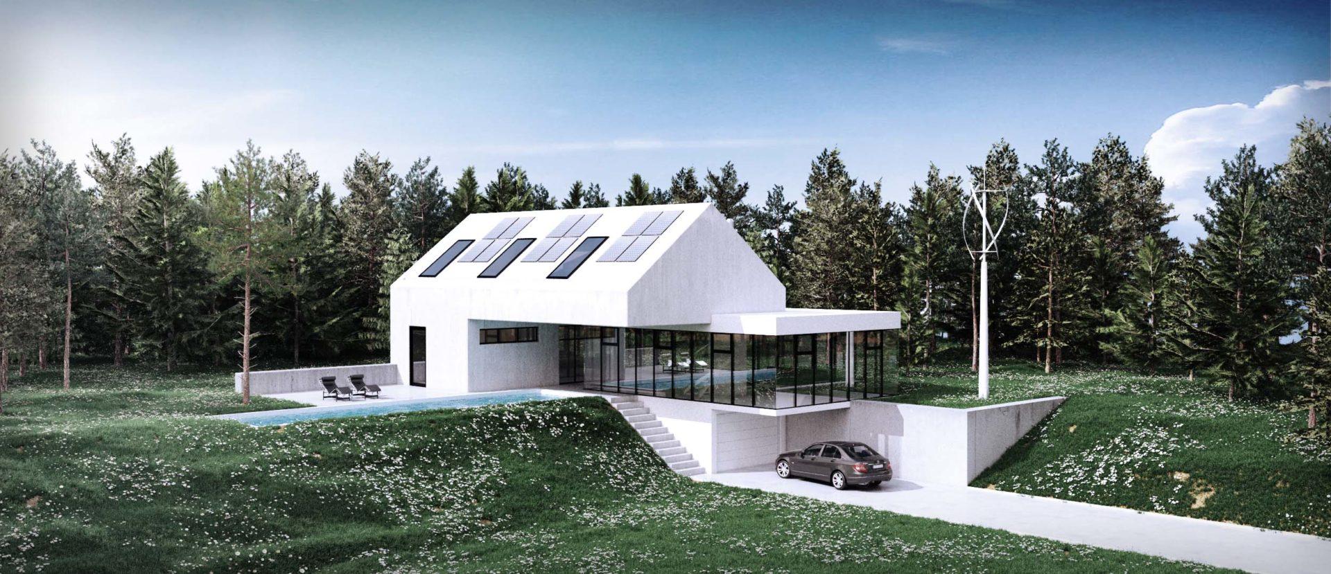 projekt indywidualny domu jednorodznnego