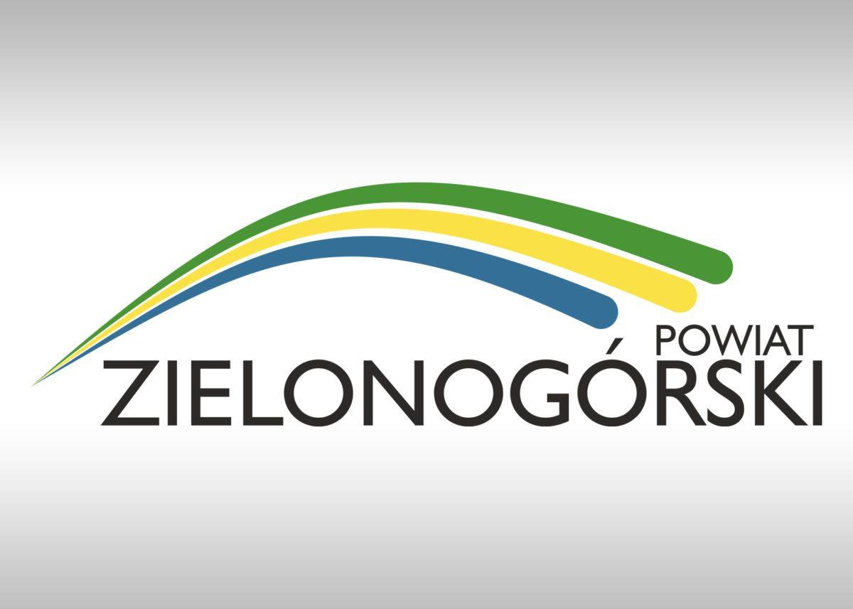 projekt logo powiatu zielonogórskiego
