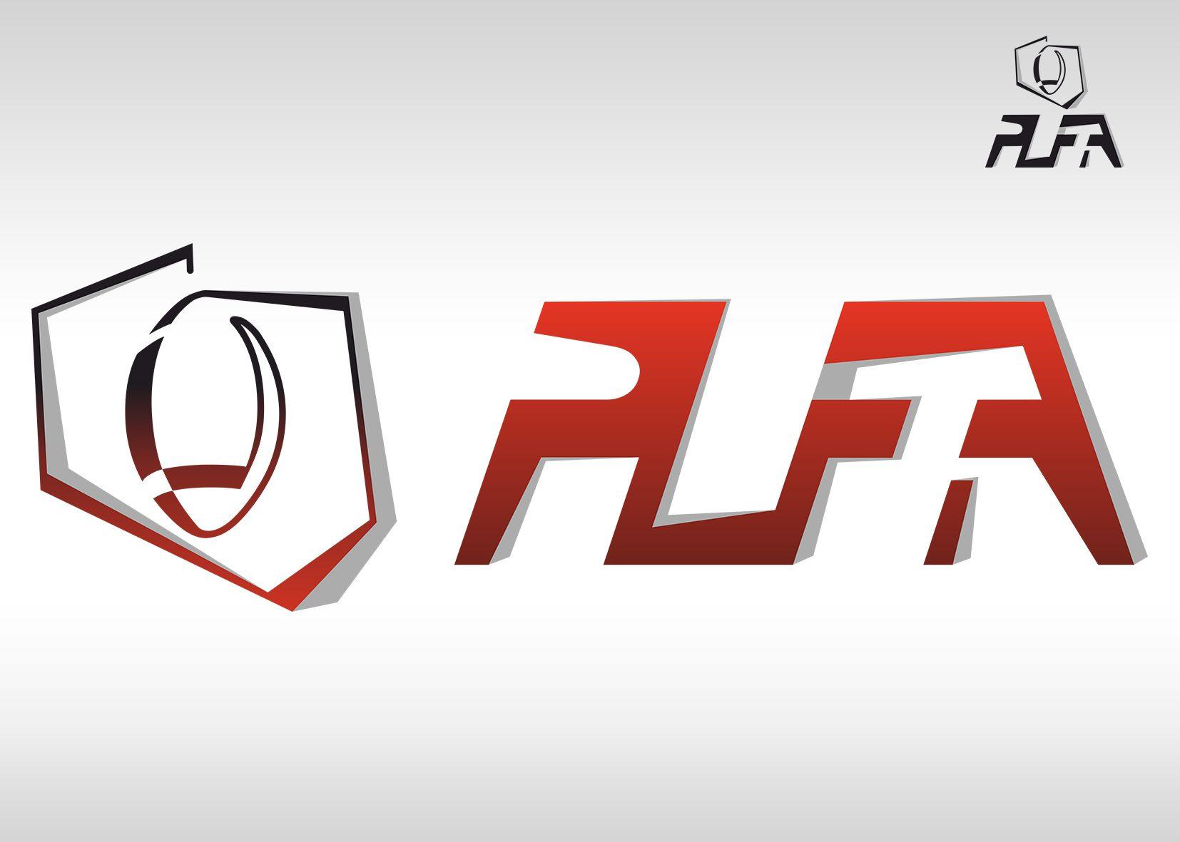 projekt graficzny logo plfa