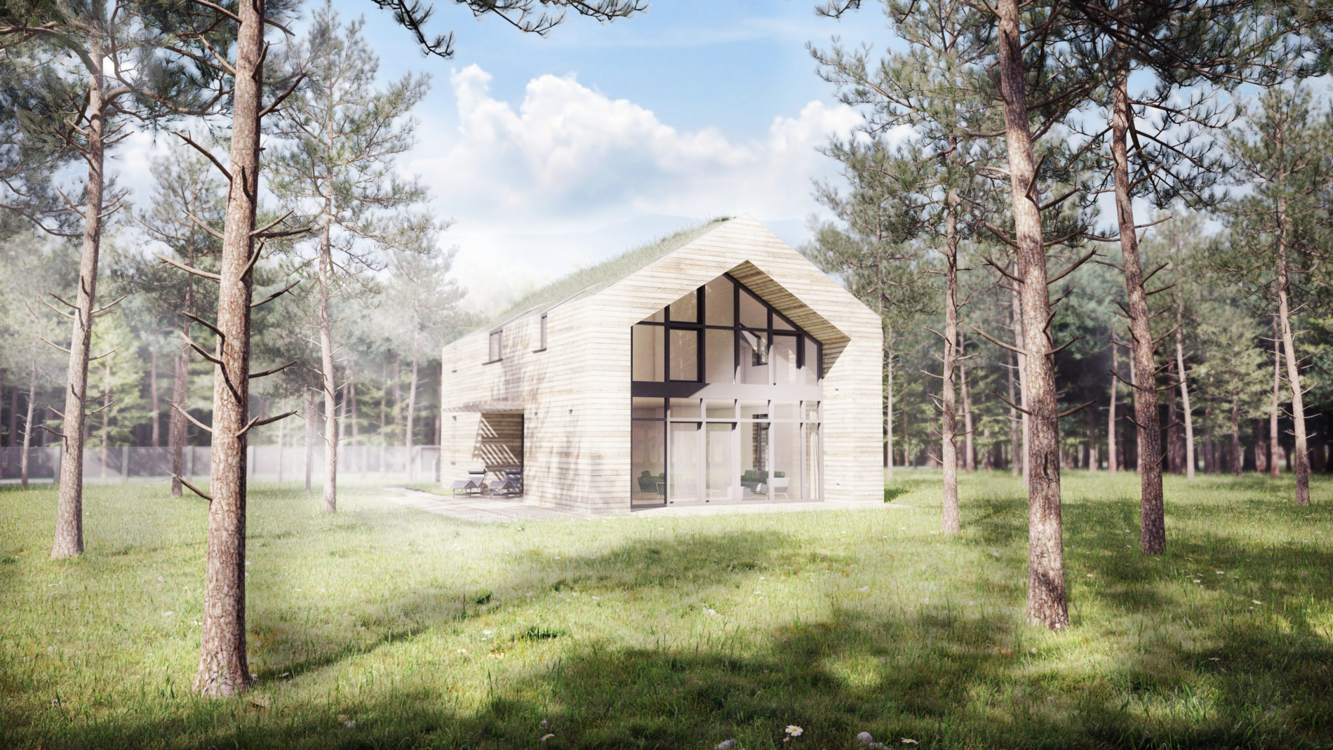 Projekt domu energooszczędnego Katowice