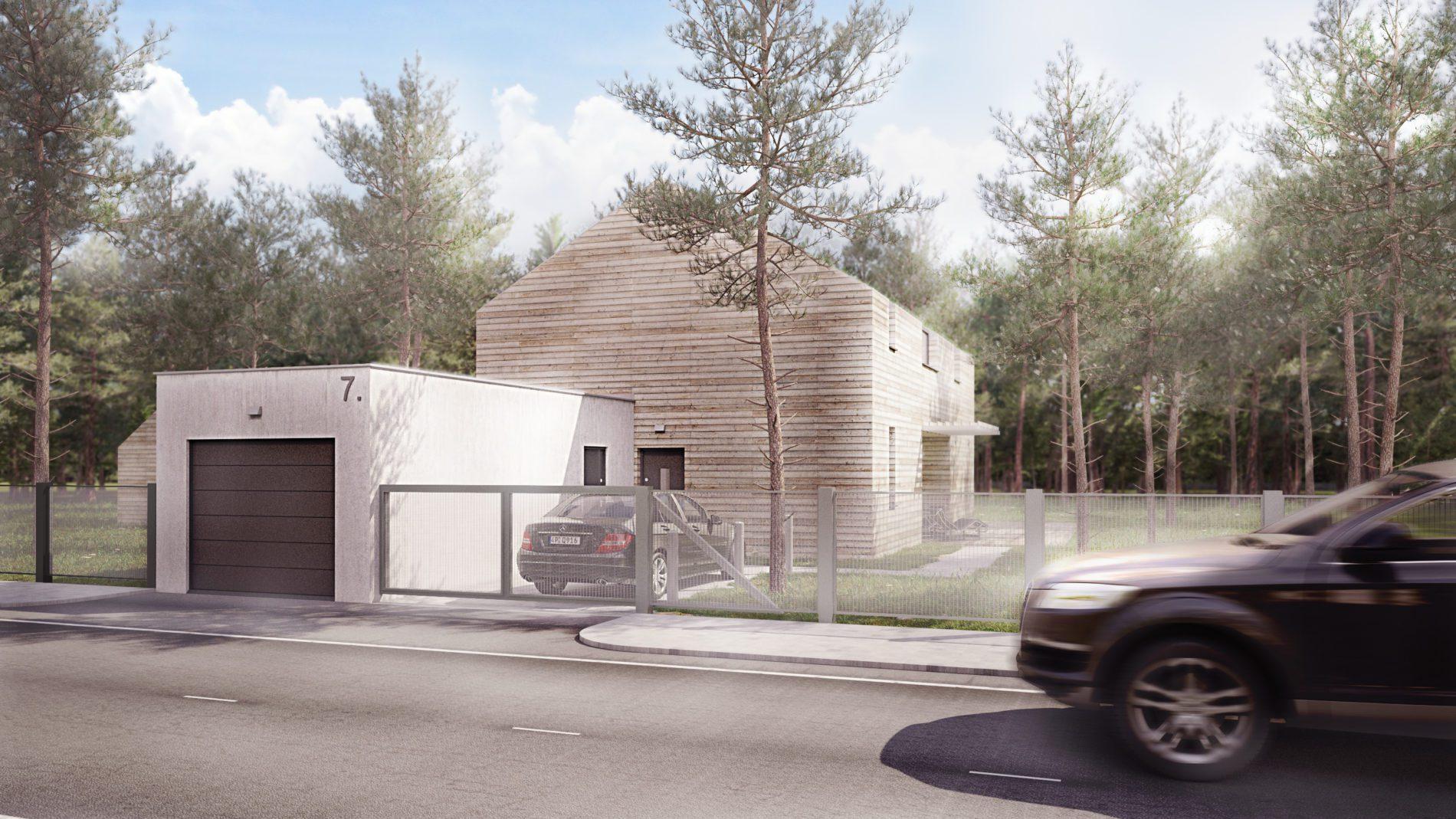 Projekt architektoniczny domu jednorodzinnego