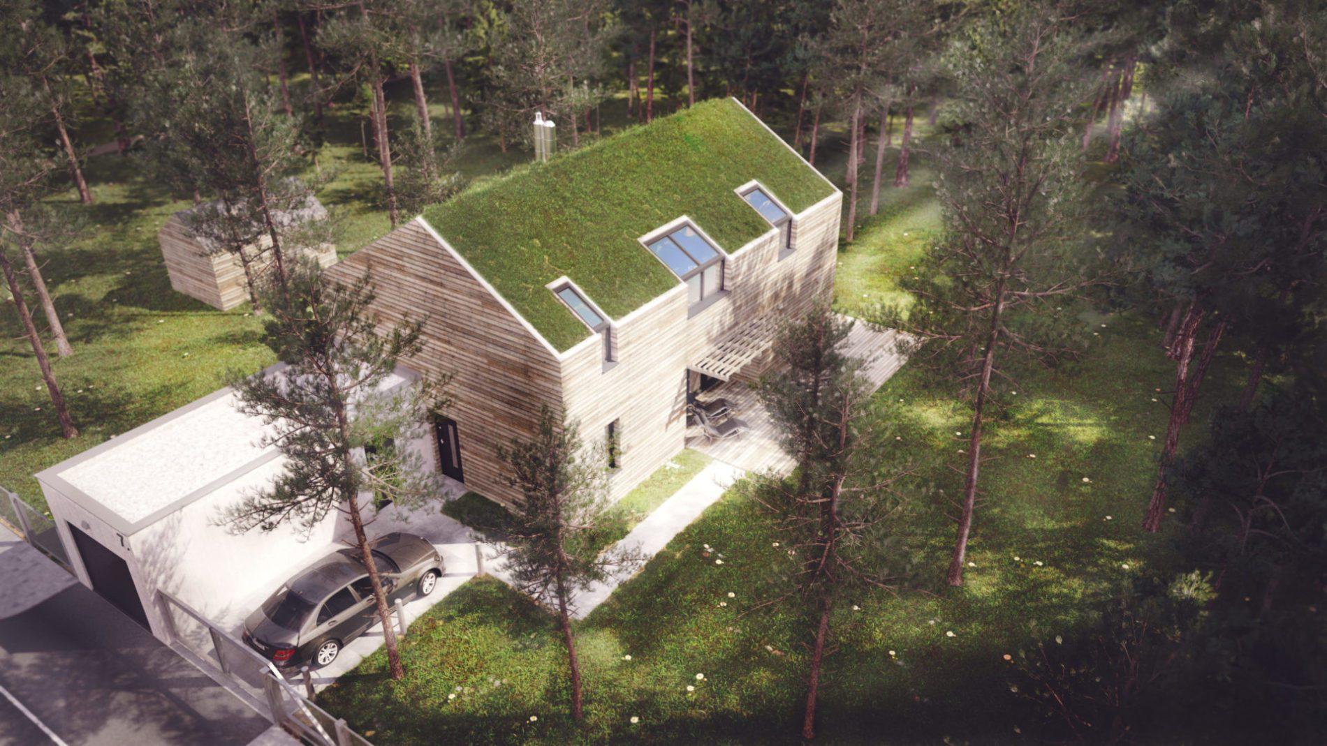 architekt Katowice - projekt indywidualny domu jednorodzinnego