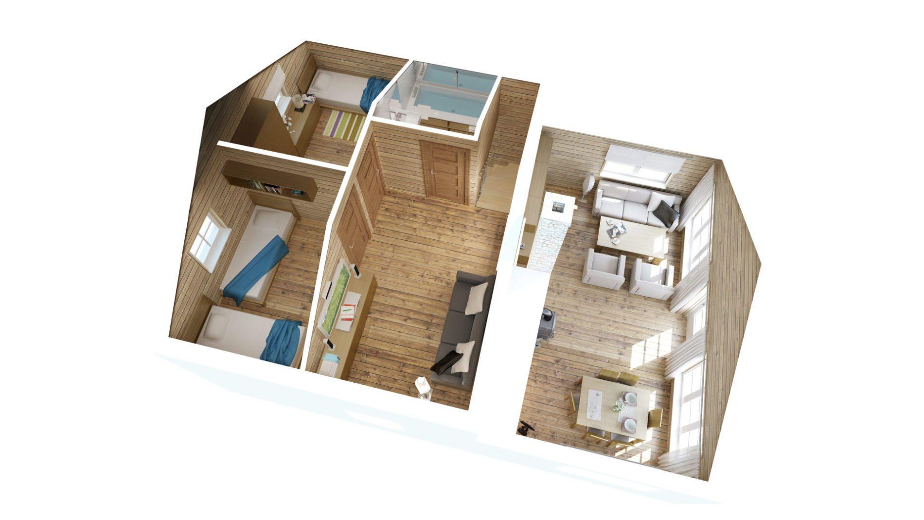 plan 3d piętra