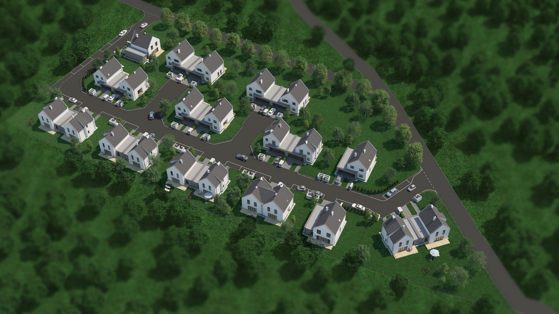 wizualizacja osiedla w Czeladzi
