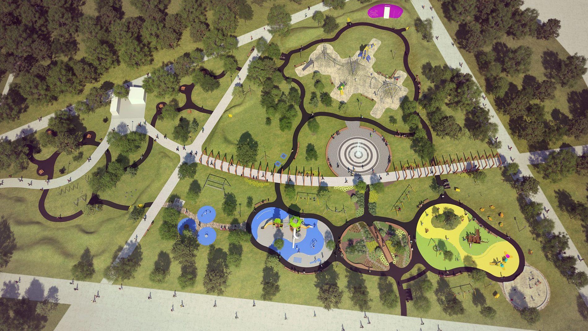 Ogród jordanowski prak kuronia Sosnowiec