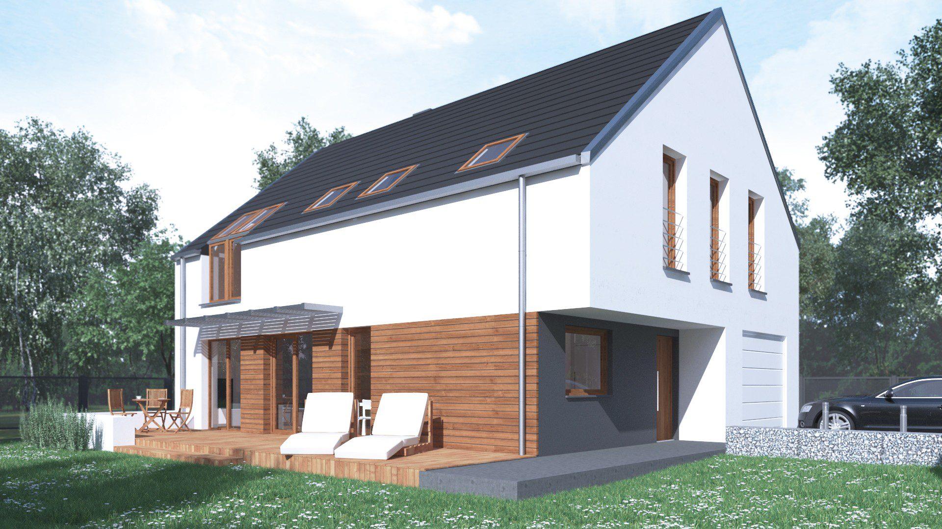projekt budowlany domu jednorodzinnego