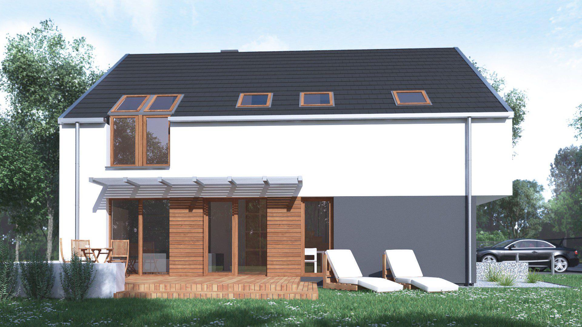 projekt budowlany domu 150 m2