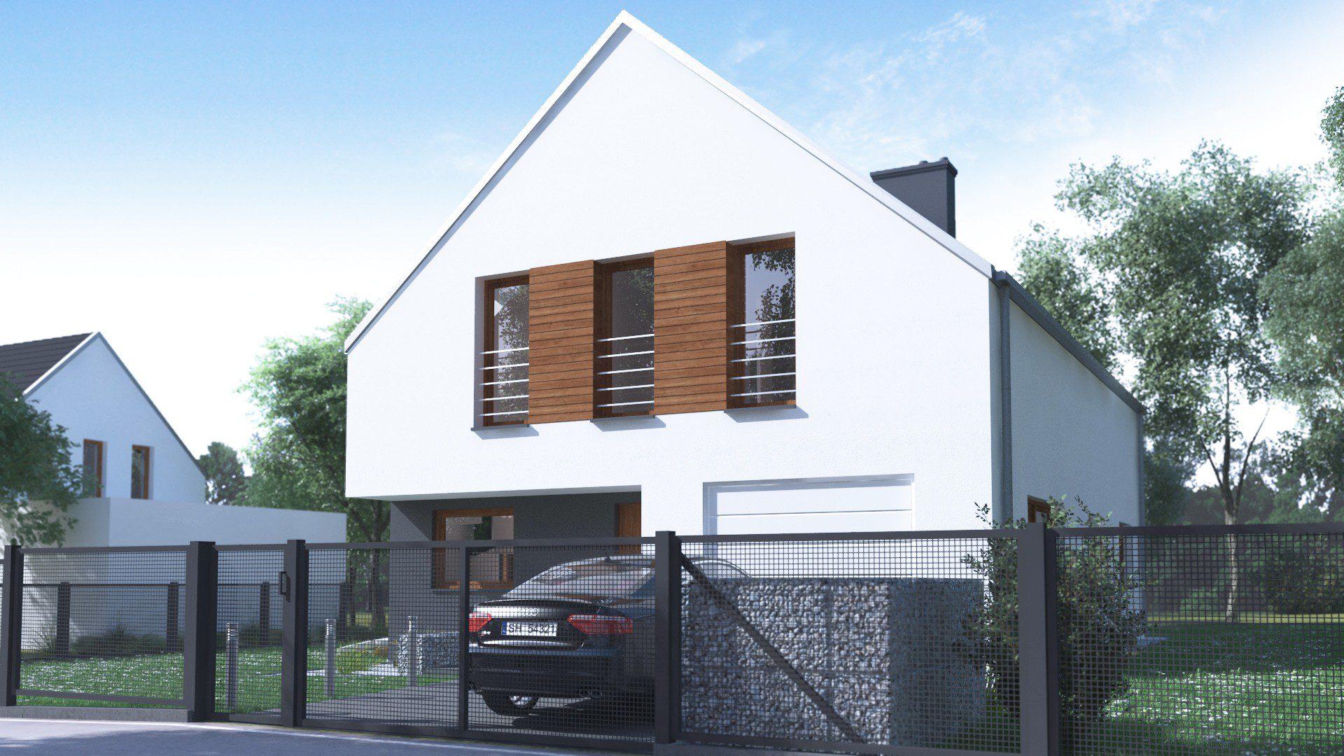 Projekt domu nowoczesnego