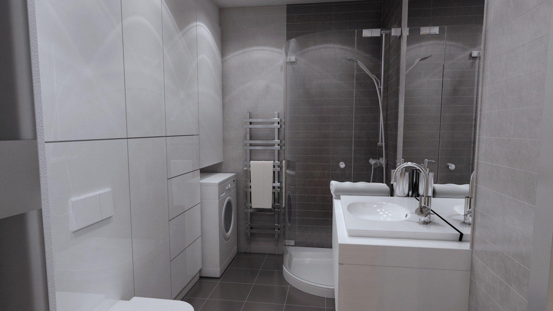 projekt mieszkania chorzów osiedle zakątek łazienka