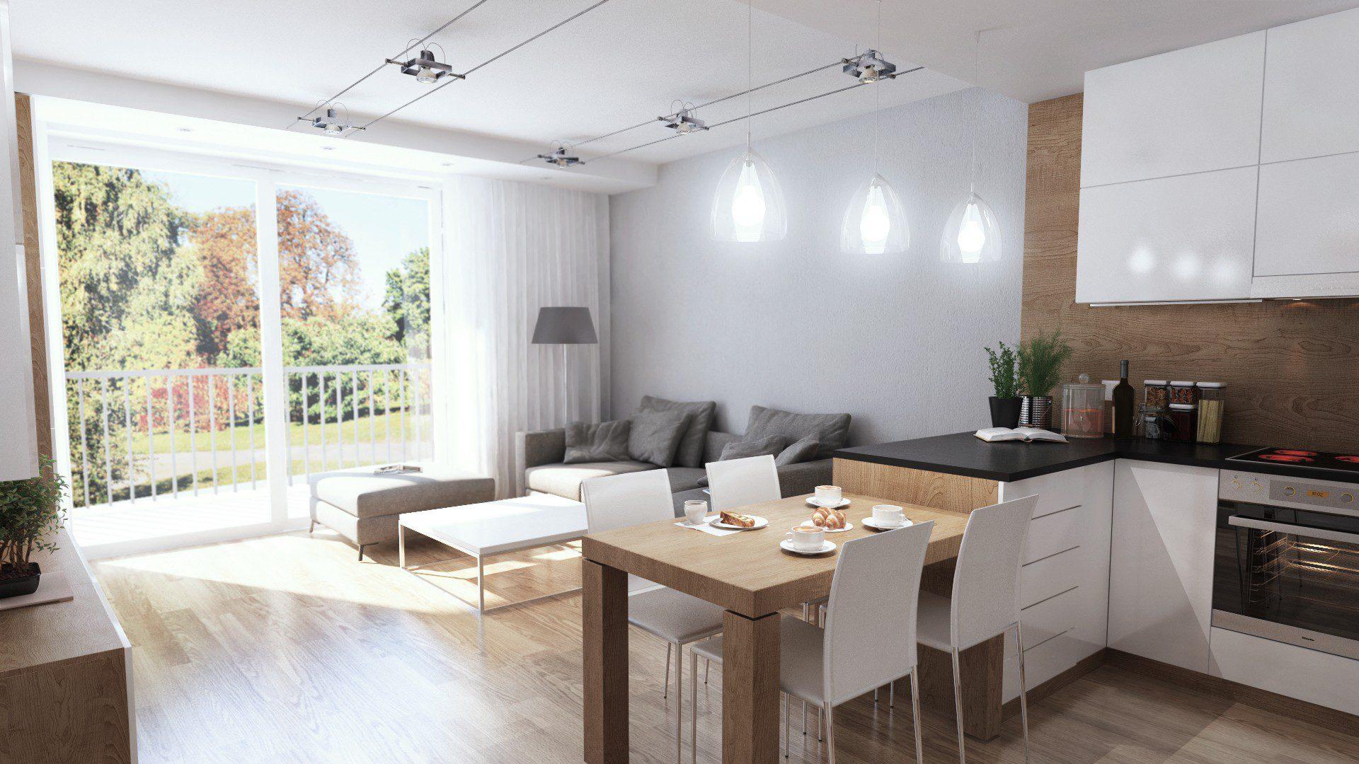salon mieszkania na osiedlu zakątek w Chorzowie