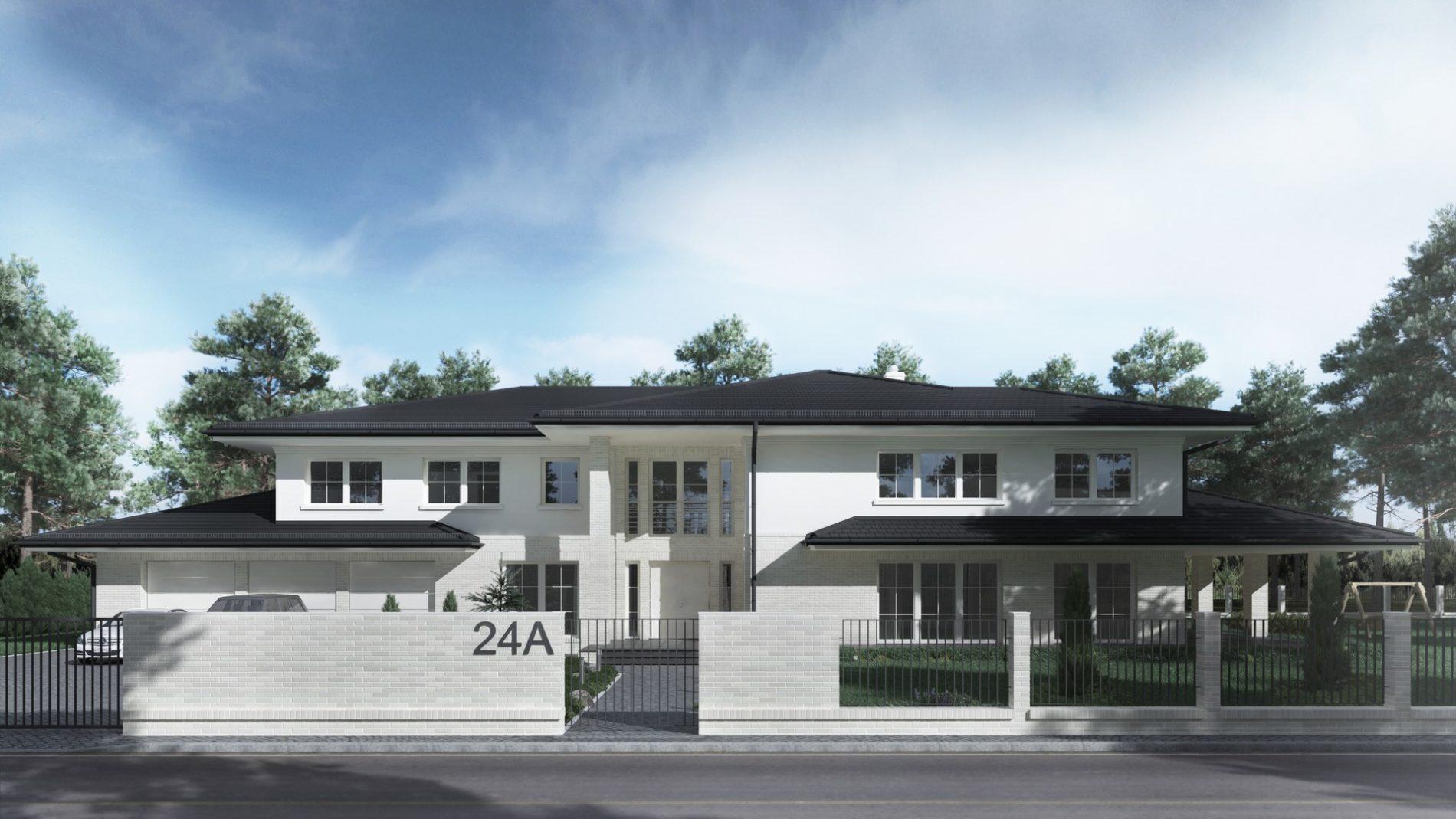 rezydencja parterowa dom jednorodzinny Śląsk