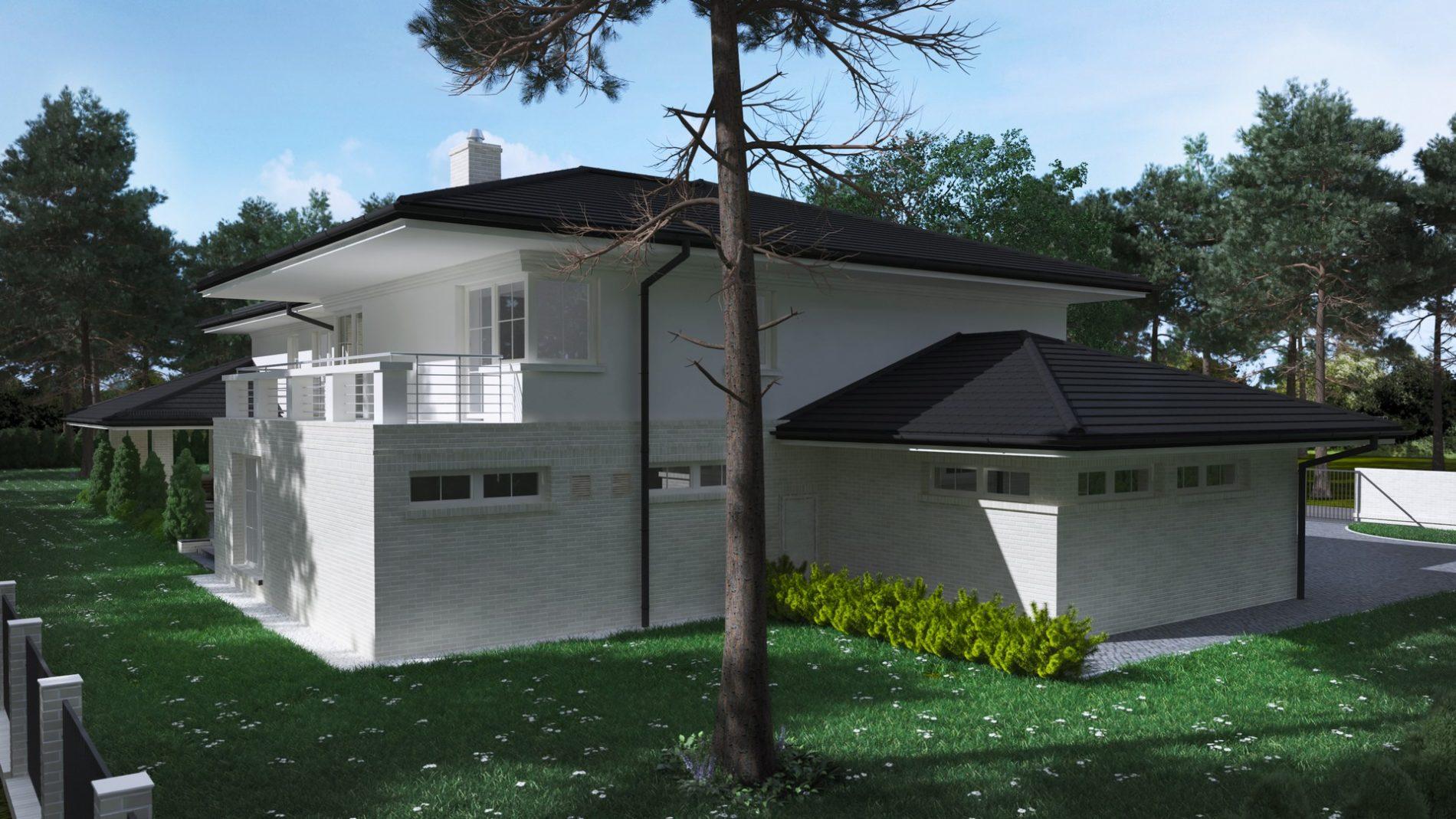 wizualizacja architektoniczna domu jednorodzinnego tarnowskie góry