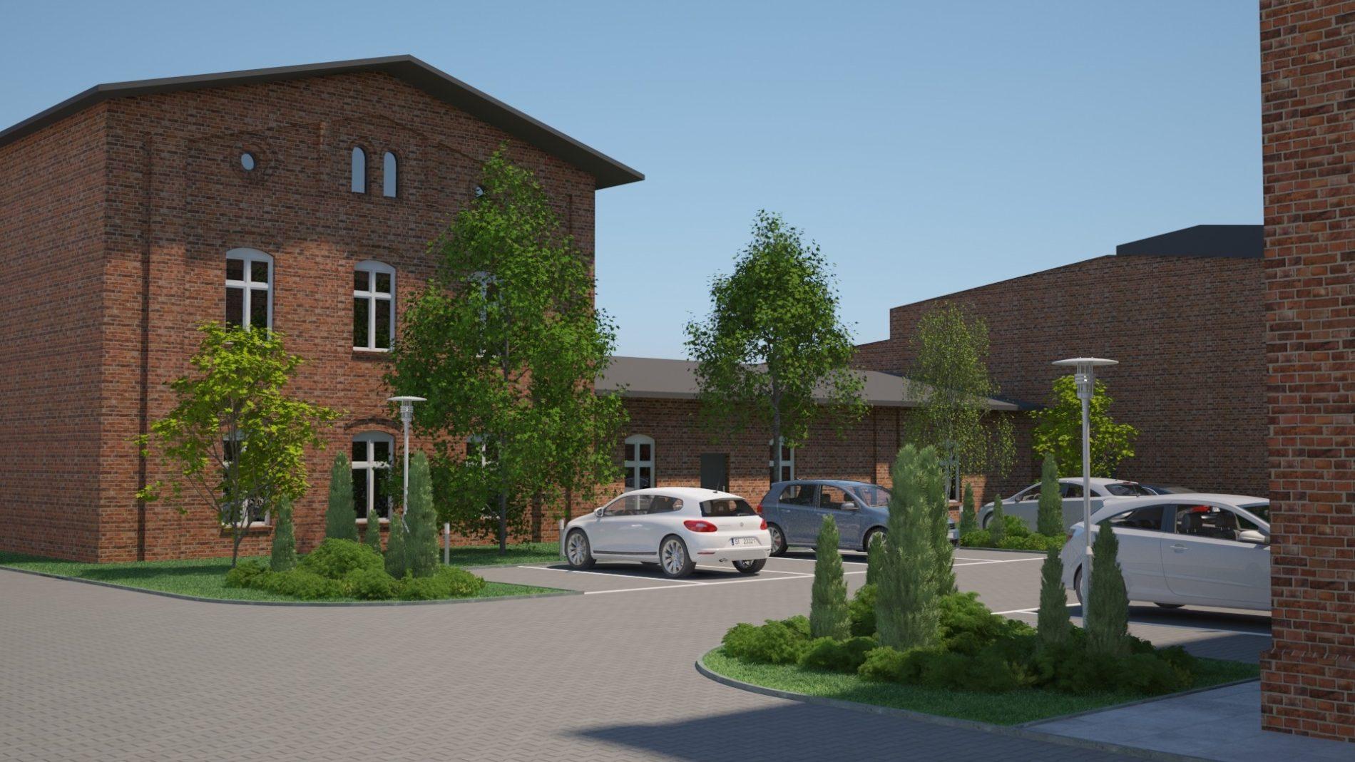 projekt parkingu rewitalizacja terenów przemysłowych Chorzów