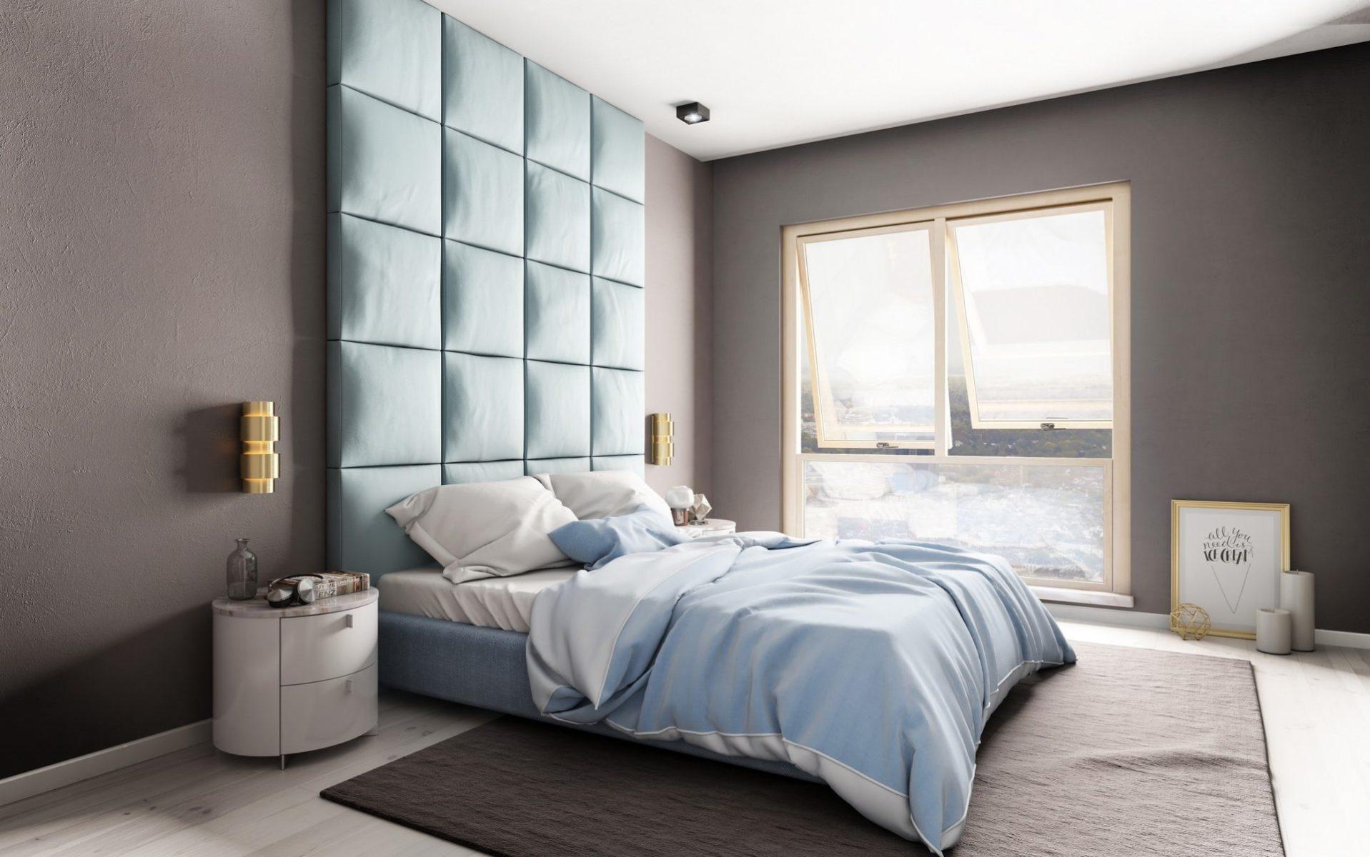 sypialnia w mieszkaniu wizualizacja 3d