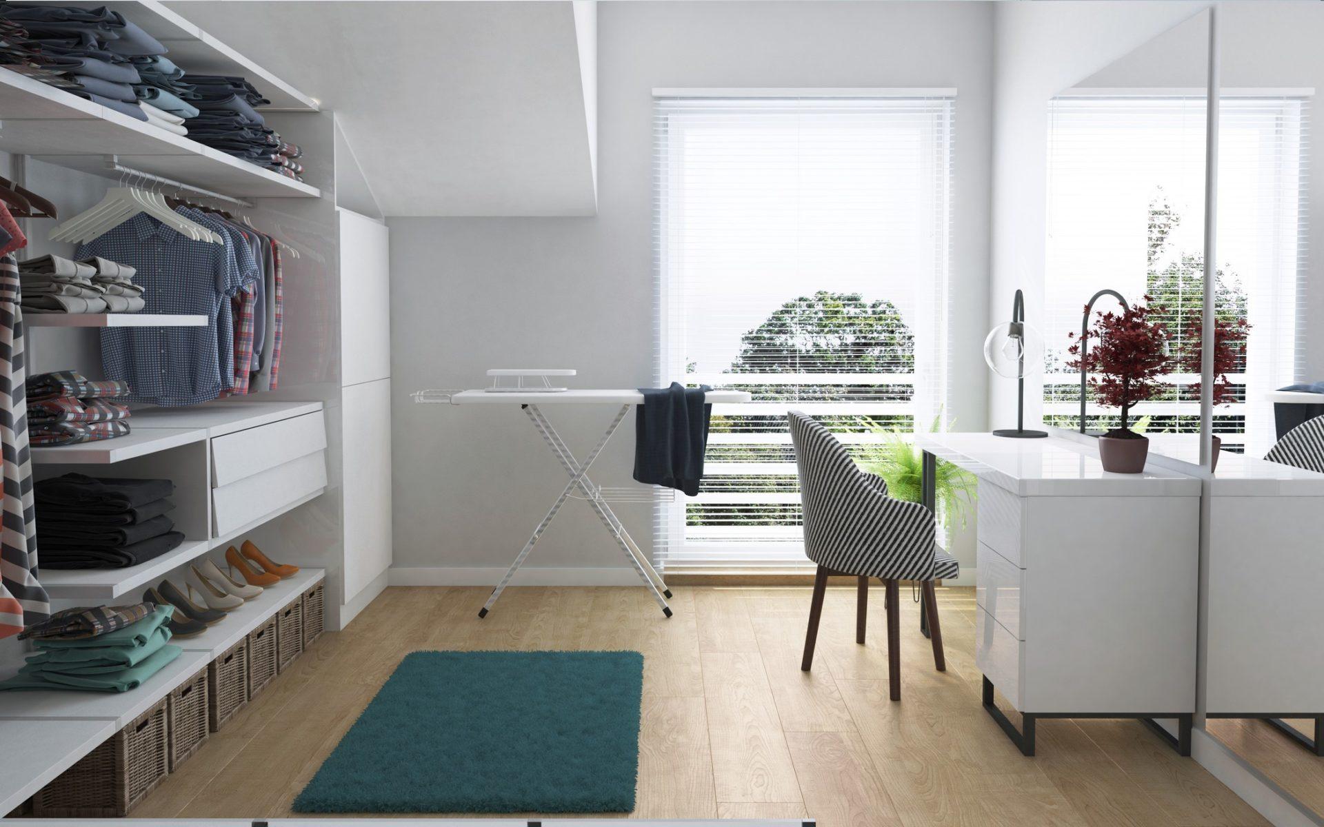 garderoba dom jednorodzinny szeregowy śląsk
