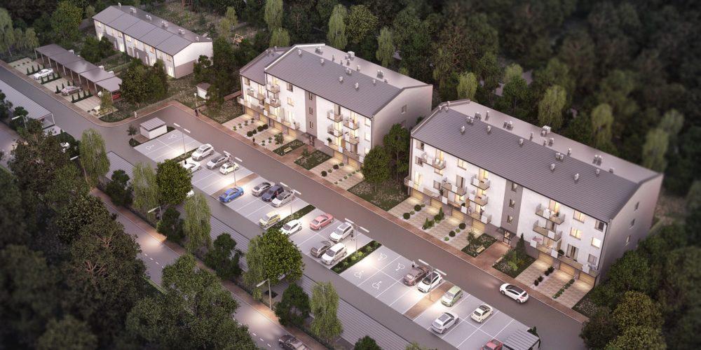 architekt katowice projekt wizualizacje mieszkaniowka