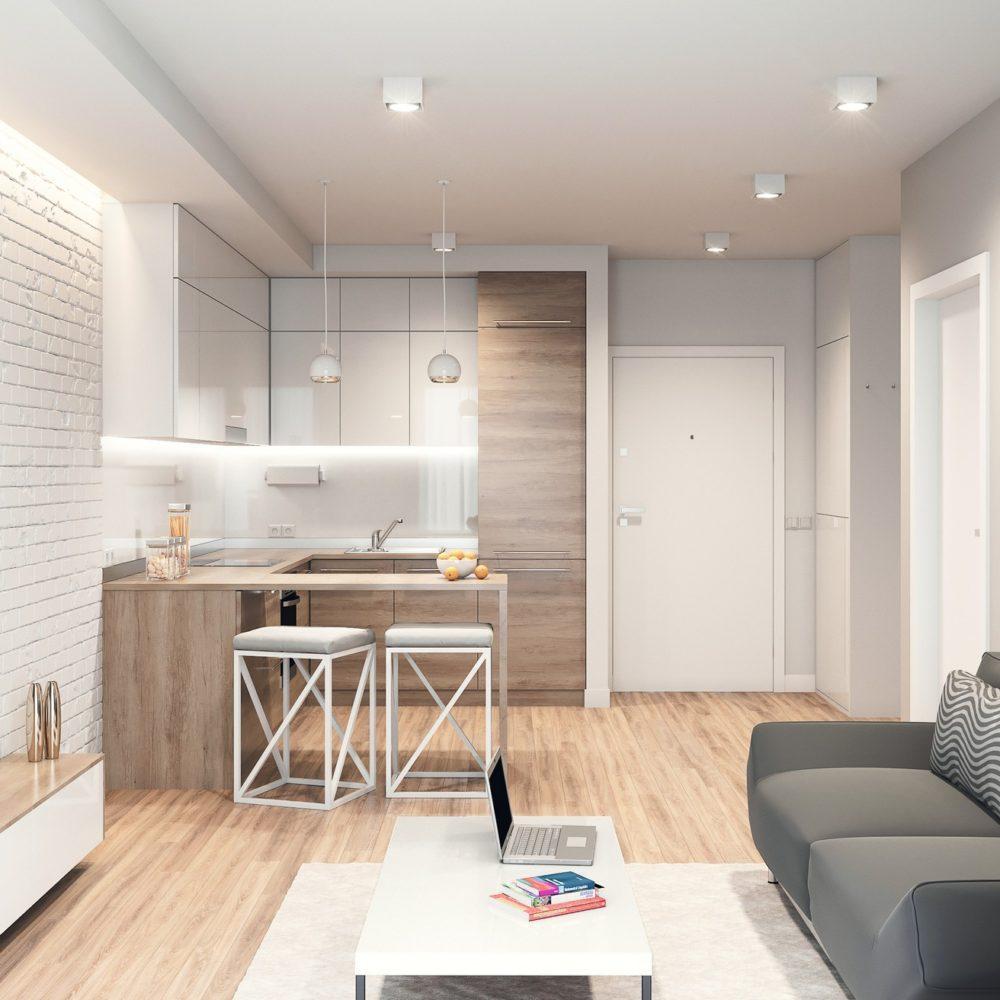 koncepcja aranżacji mieszkania przykładowa deweloper