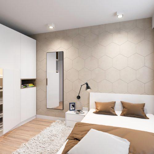 sypialnia wizualizacja aranżacja deweloper