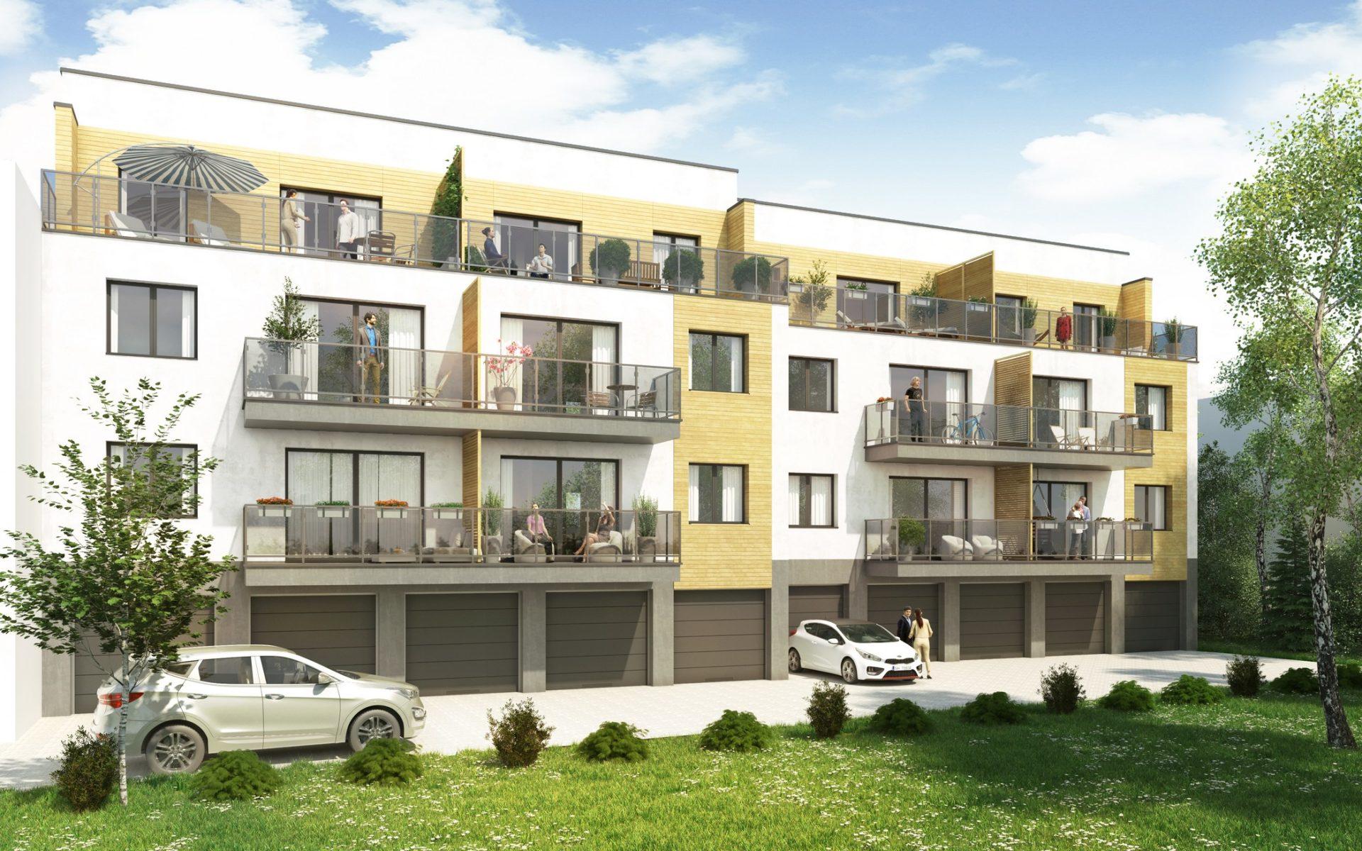 architekt śląsk projekt budynku wielorodzinnego katowice
