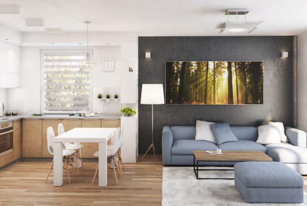 architekt Katowice projekt wnętrza mieszkania