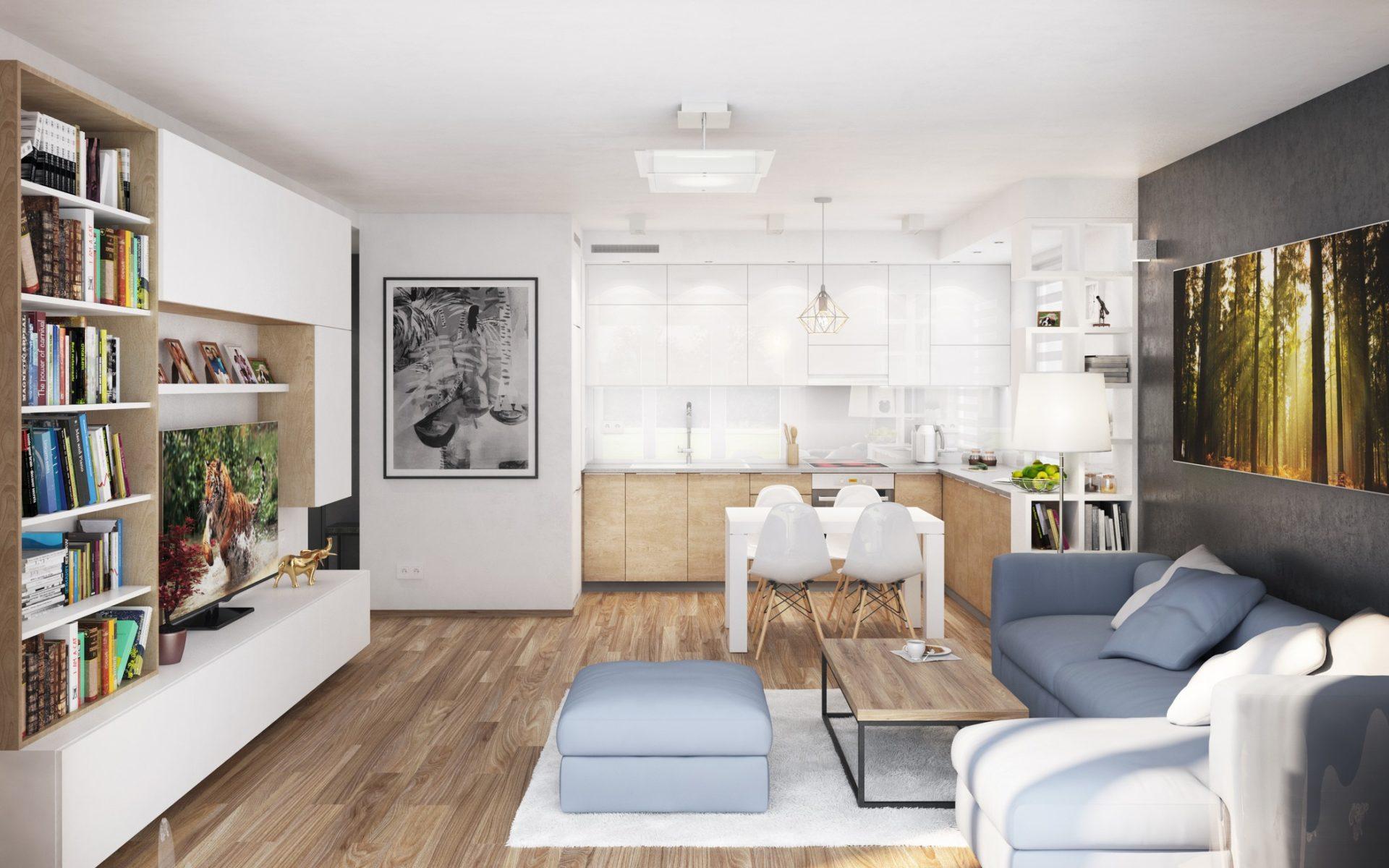 projekt aranżacji mieszkania wizualizacje architekt
