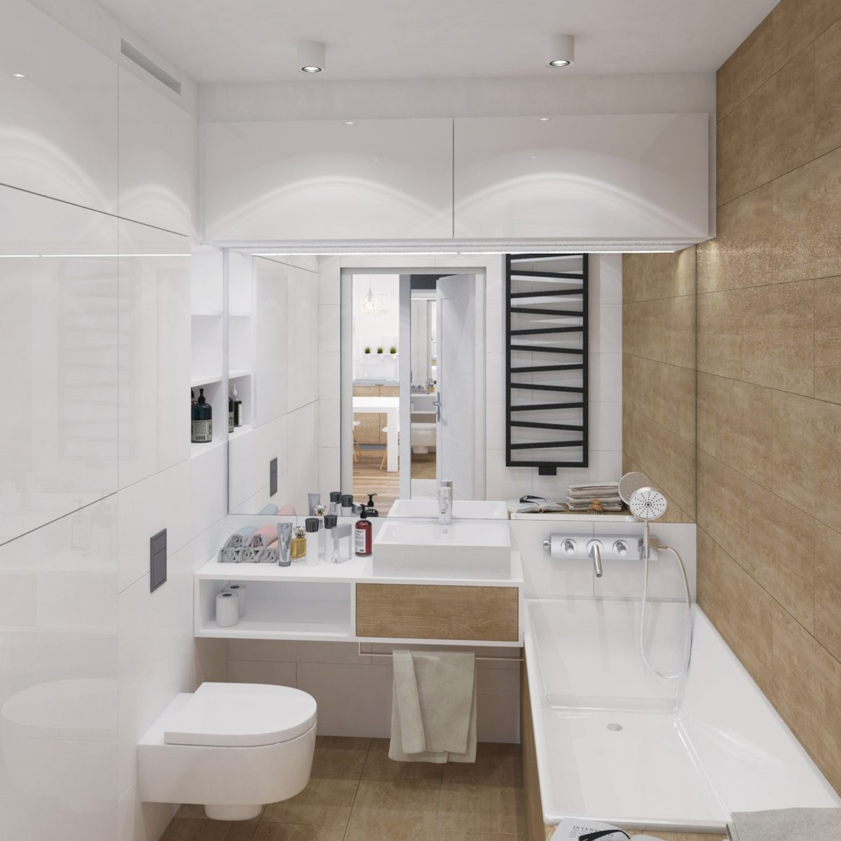 projekt łazienki architekt katowice