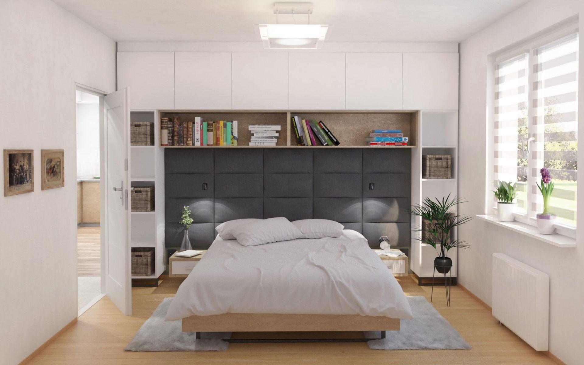 sypialnia projekt architekt katowice