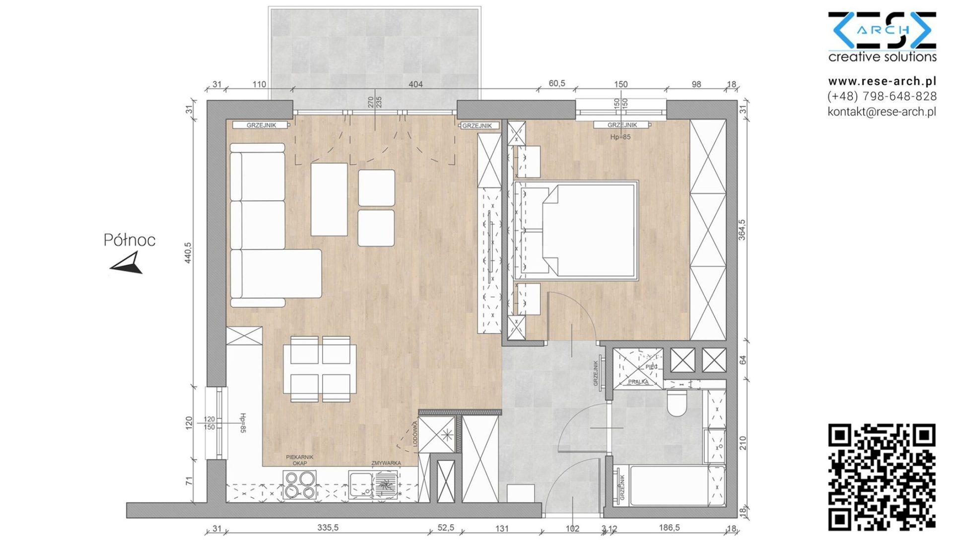 projekt mieszkania architekt katowice