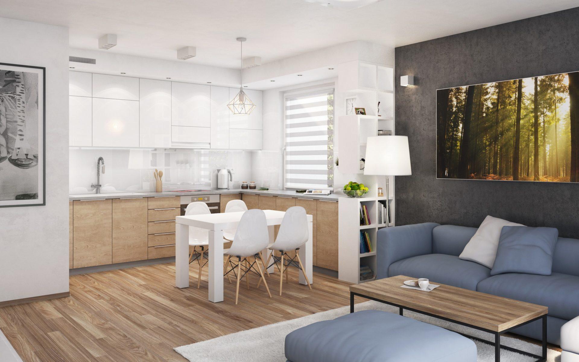 wizualizacja mieszkania architekt katowice