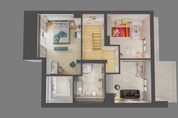 wizualizacja 3d architekt katowice