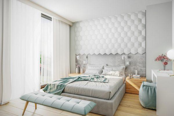 projekt sypialni deweloper