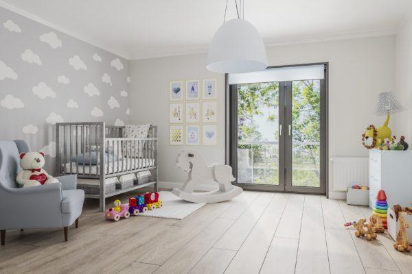 projekt wnetrza sypialni dziecka