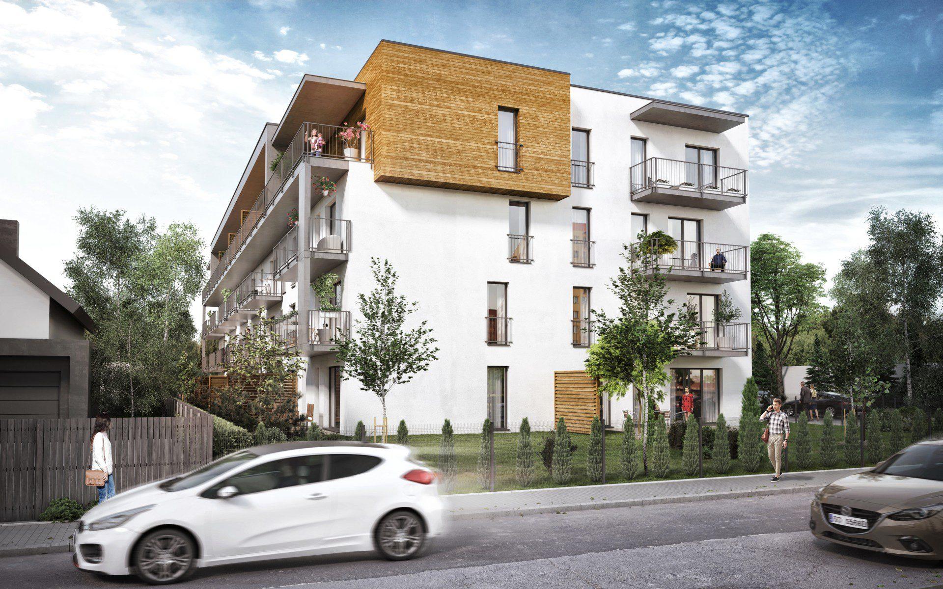 lok wielorodzinny mieszkalny Śląsk architektura wizualizacja