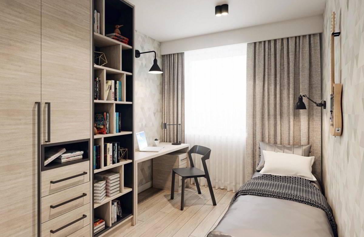 Wizualizacja wnętrza mieszkania - pakiet deweloperski sosnowiec