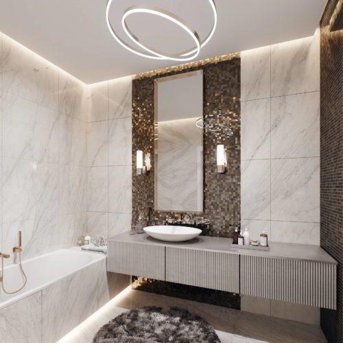 wizualizacja łazienki architekt chorzów