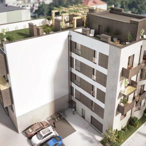 wizualizacja 3d budynek wielorodzinny chorzów pakiet deweloperski