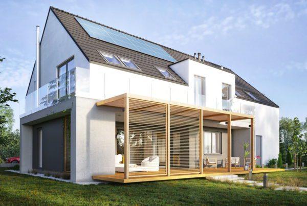 Projekt indywidualny domu jednorodzinnego w Tarnowskich Górach architekt Śląsk