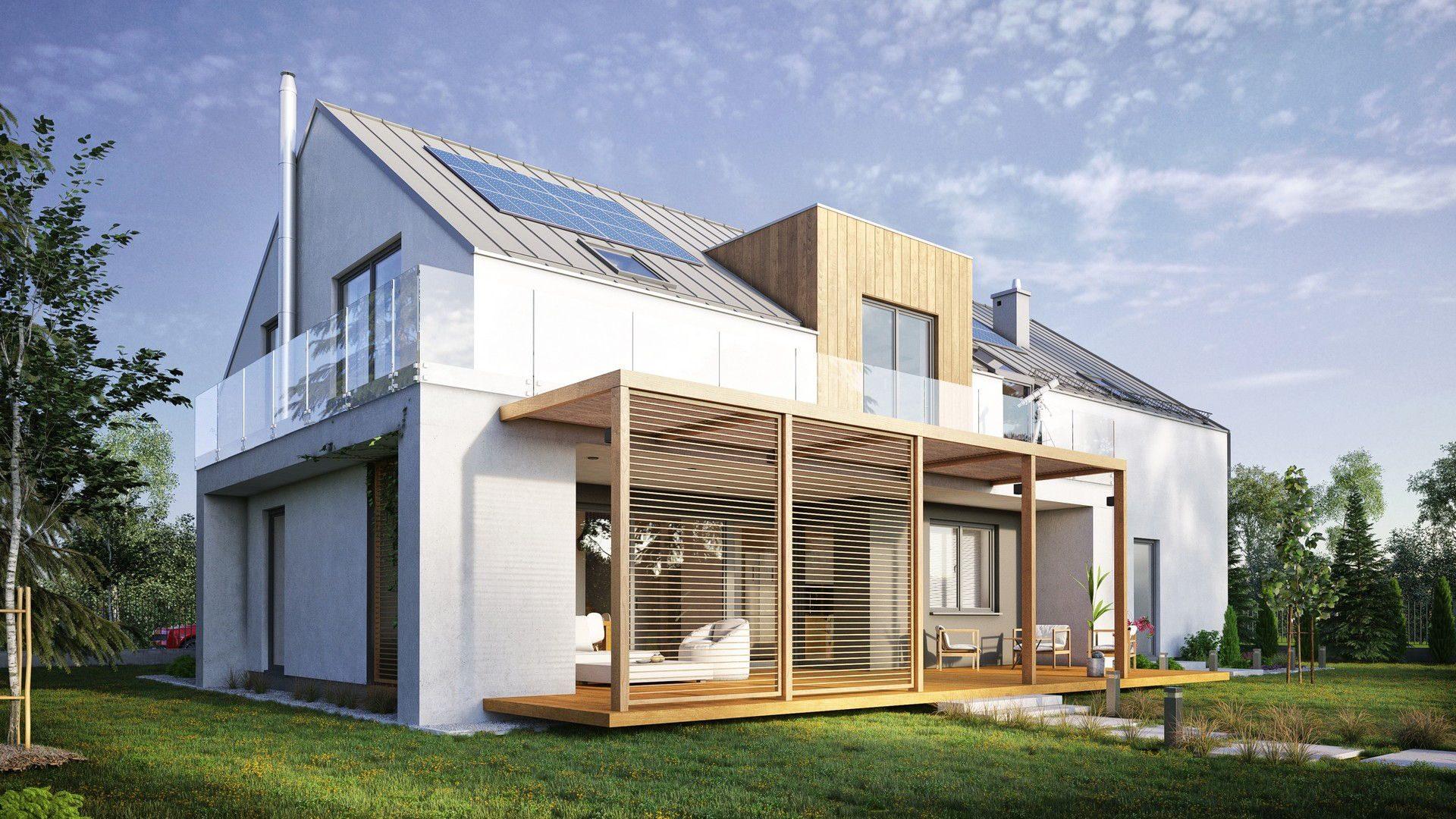 projekt domu z lukarną śląsk