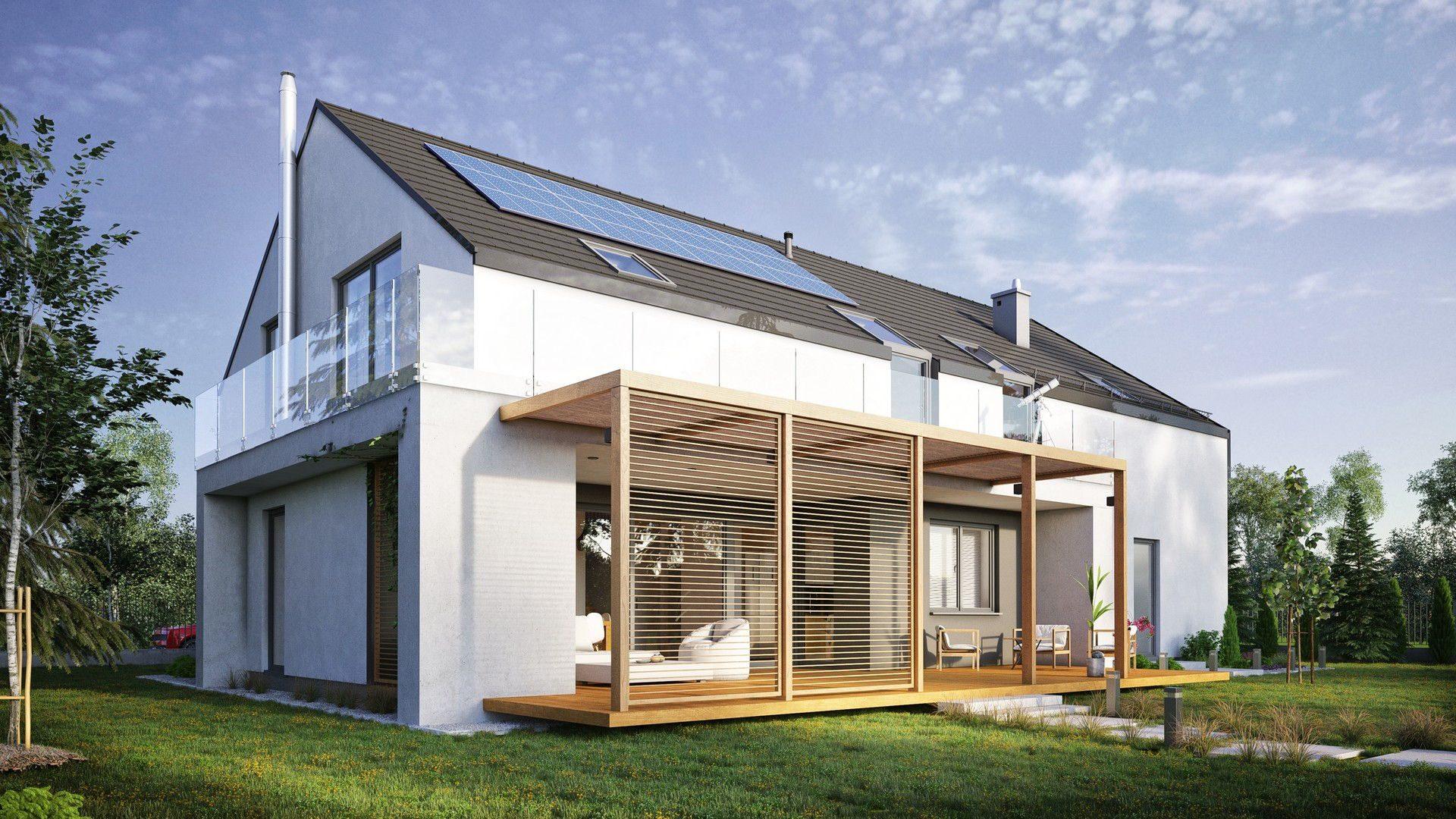 Projekt indywidualny domu jednorodzinnego opcja