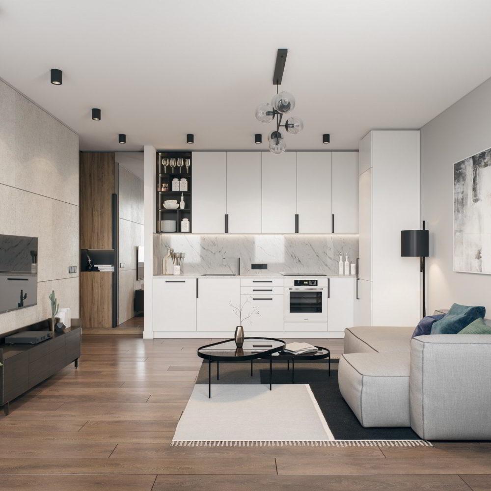 projekt mieszkanie w kamienicy przebudowa remont Katowice biuro projektowe