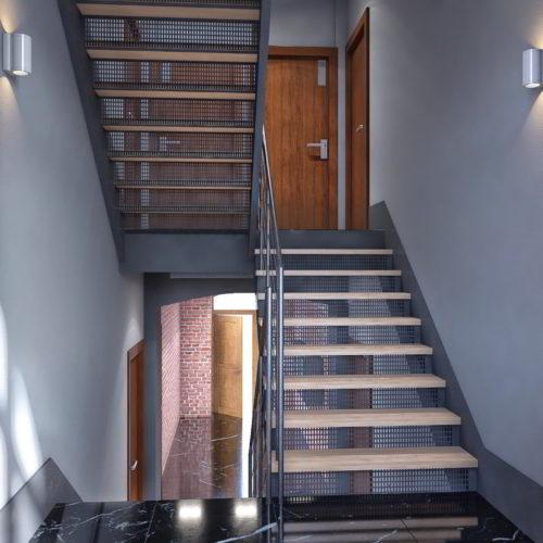 projekt klatki schodowej katowice