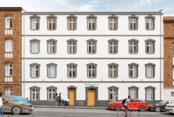 projekt rewitalizacji kamienicy mieszkalnej w centrum Katowic architekt nadbudowa
