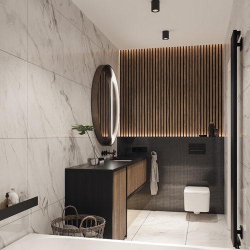 wizualizacja 3d łazienki architekt Katowice