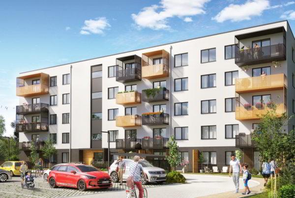 projekt budowalny budynku wielorodzinnego deweloper pakiet Śląsk